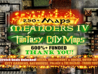Meanders 4: Fantasy Cities 700% funded
