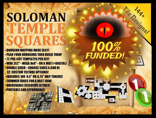 Soloman Temple Squares 100% Funded!