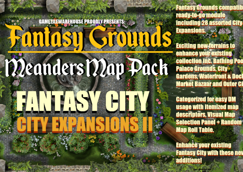 City Expansion I Promo Graphic I