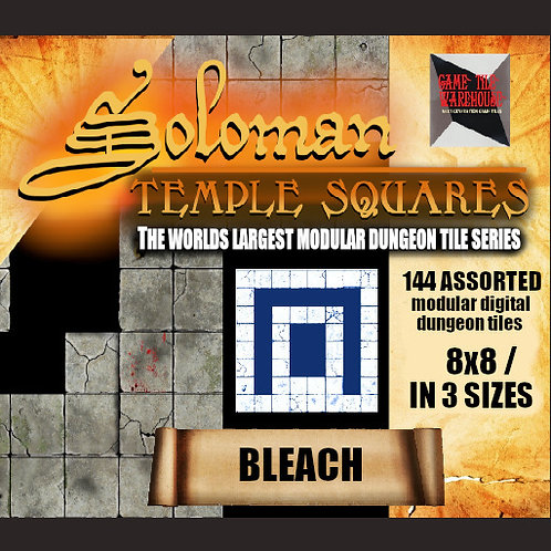 Soloman Temple Squares - BLEACH