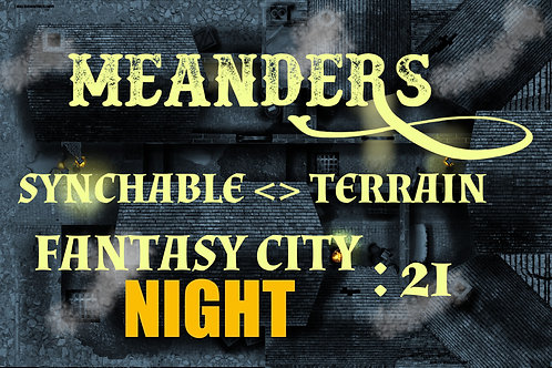 Fantasy City Night 21