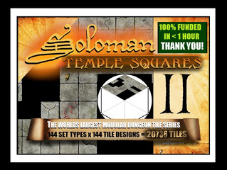 Soloman T. Squares / LIVE & FUNDED