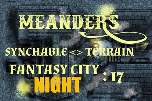 Fantasy City Night 17