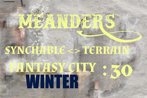 Fantasy City Winter 30