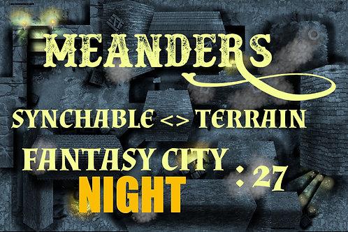 Fantasy City Night 27