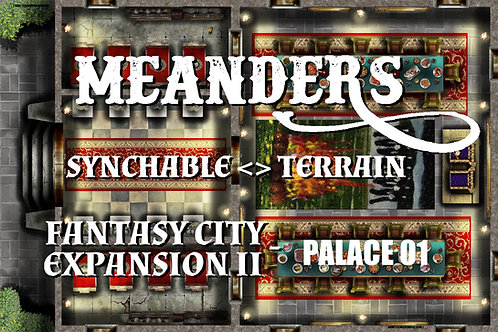 Fantasy City Expansion II - City Palace 01