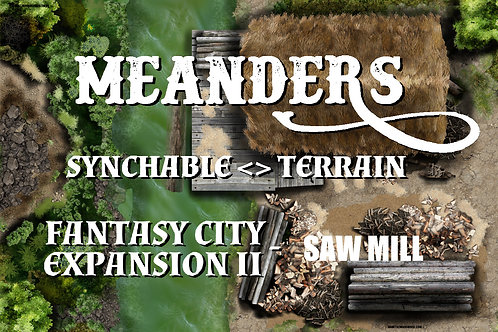 Fantasy City Expansion II - Saw Mill