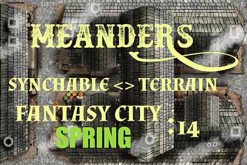 Fantasy City Spring 14