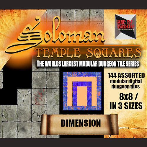 Soloman Temple Squares - DIMENSION