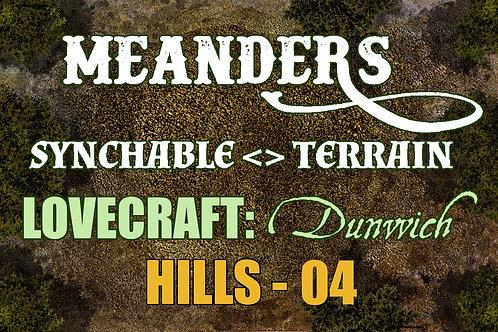 Lovecraftian Dunwich: Hills 04