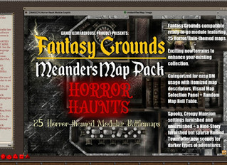 Horror Haunts Meanders Map Pack