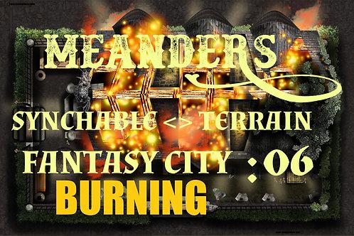 Fantasy City Burning 06