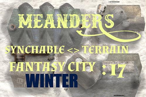 Fantasy City Winter 17