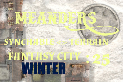 Fantasy City Winter 25