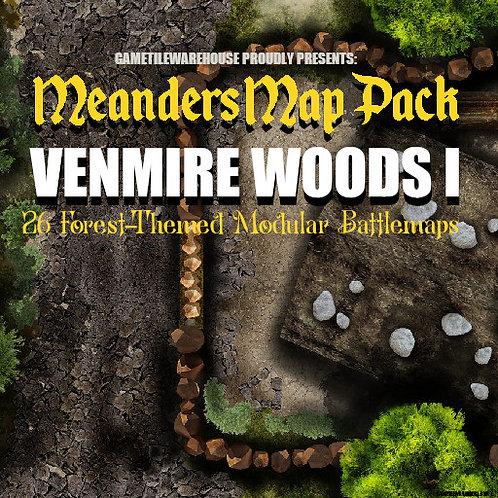 Venmire Woods: Roll20 Meanders Map Pack