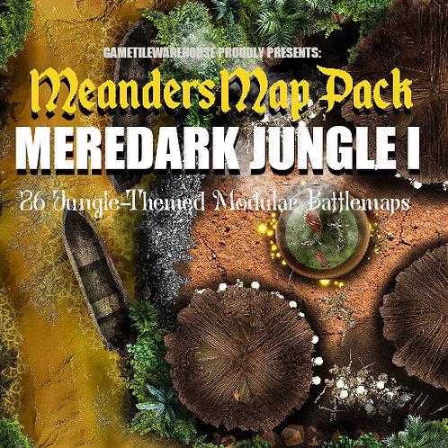 Meredark Jungle I: Roll20 Meanders Map Pack