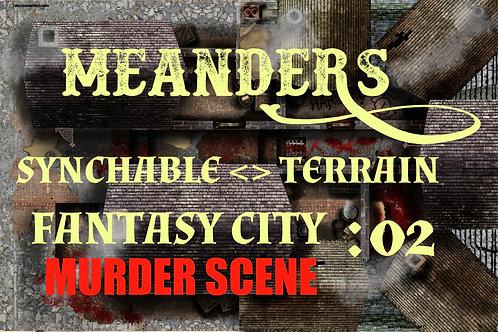 Fantasy City Murder Scene 02