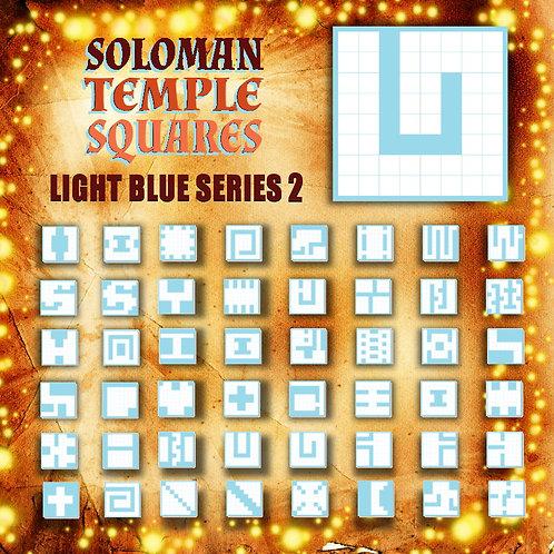 Soloman Temple Squares: Light Blue Series2