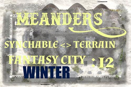 Fantasy City Winter 12