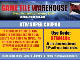 GTW's 3 YEAR ANNIVERSARY!