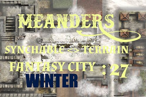Fantasy City Winter 27