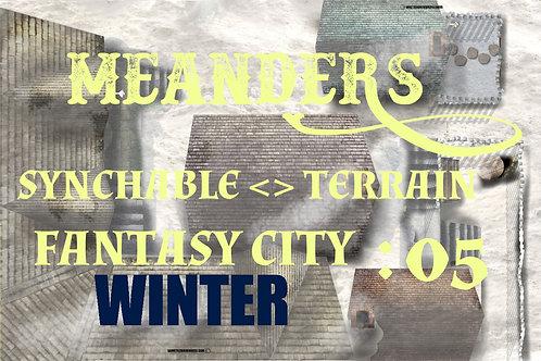 Fantasy City Winter 05