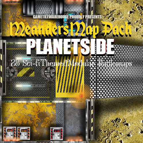 Planetside: Roll20 Meanders Map Pack
