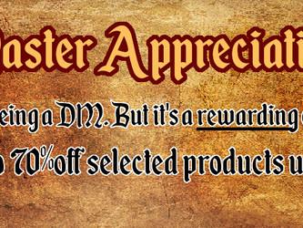 DM Appreciation Duration