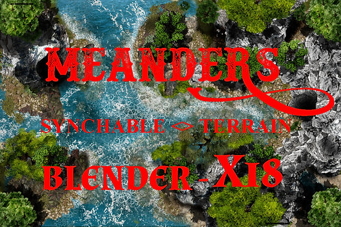 Ocean to Forest  - BLENDER