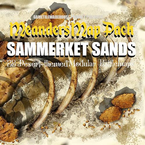 Sammerket Sands: Roll20 Meanders Map Pack