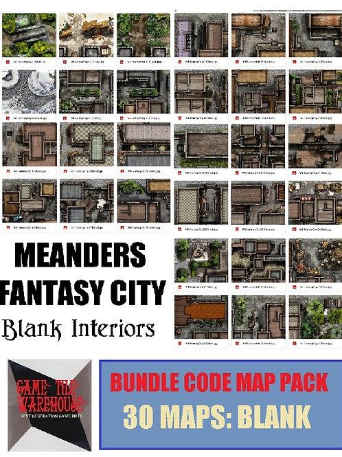Meanders 4: BLANK Fantasy City Map Bundle Code