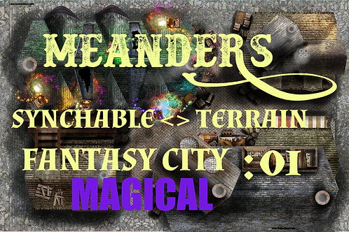 Fantasy City Magical 01
