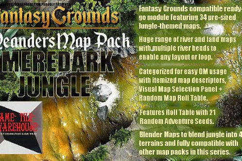 Meredark Jungle: Fantasy Grounds Meanders Map Pack