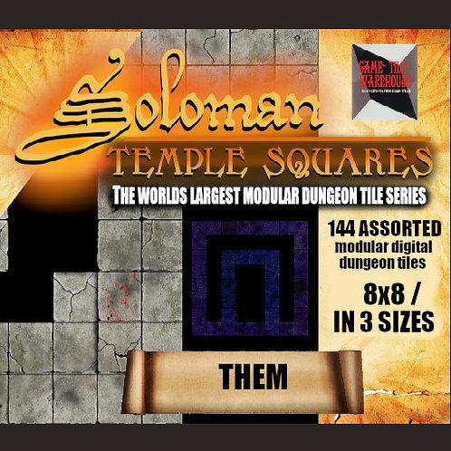 Soloman Temple Squares - THEM