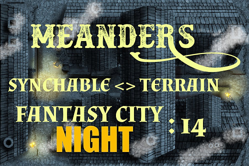 Fantasy City Night 14