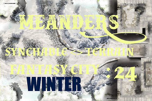Fantasy City Winter 24
