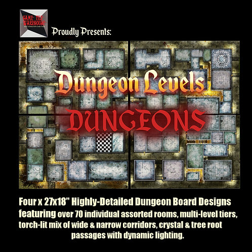 Dungeon Levels: DUNGEONS