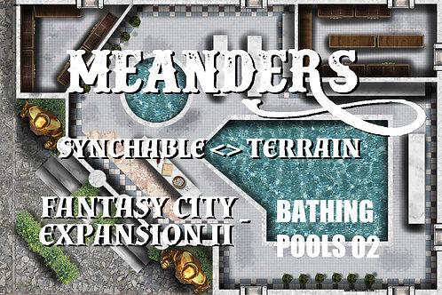 Fantasy City Expansion II - Bathing Pools 02