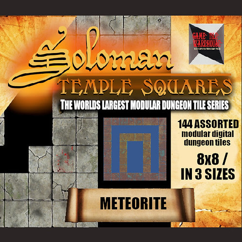 Soloman Temple Squares - METEORITE
