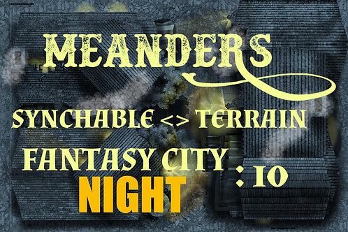 Fantasy City Night 10