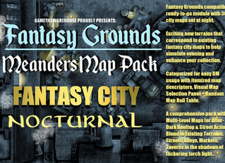 Fantasy City Map Packs for FG