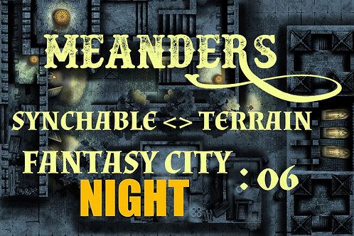 Fantasy City Night 06