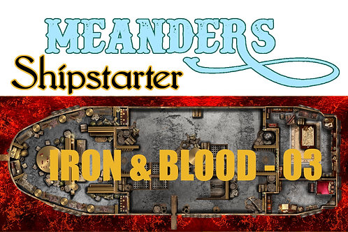 Shipstarter Iron and Blood - C