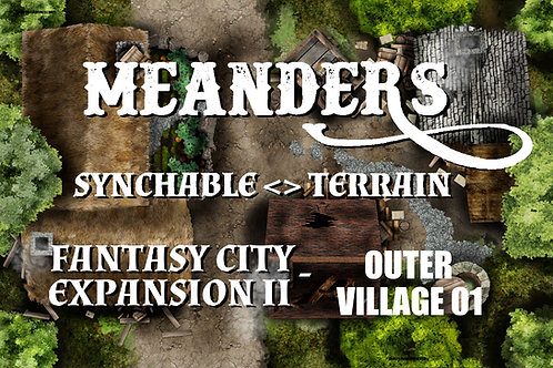 Fantasy City Expansion II - Outer Village 01
