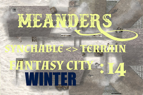 Fantasy City Winter 14