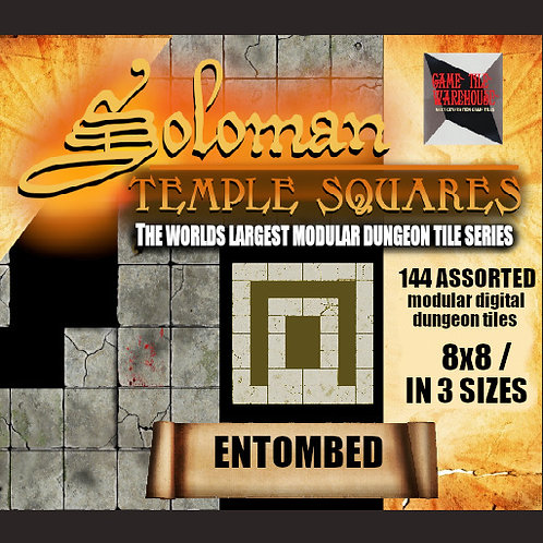 Soloman Temple Squares - ENTOMBED