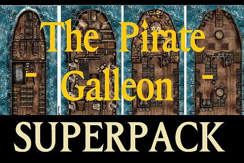 Shipstarter - Pirate Galleon Superpack