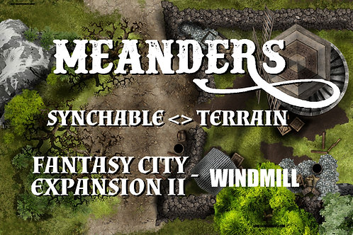 Fantasy City Expansion II -Windmill