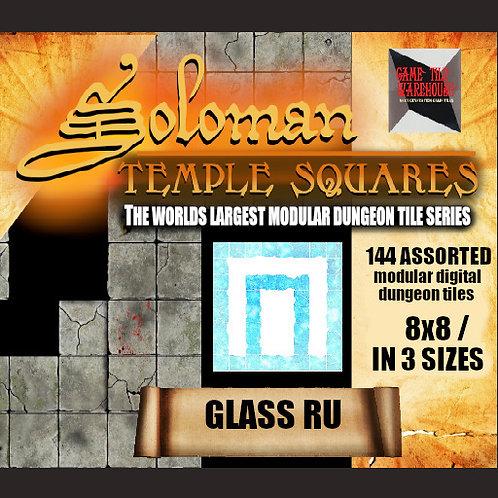 Soloman Temple Squares - GLASS RU