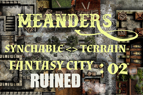 Fantasy City Ruined 02